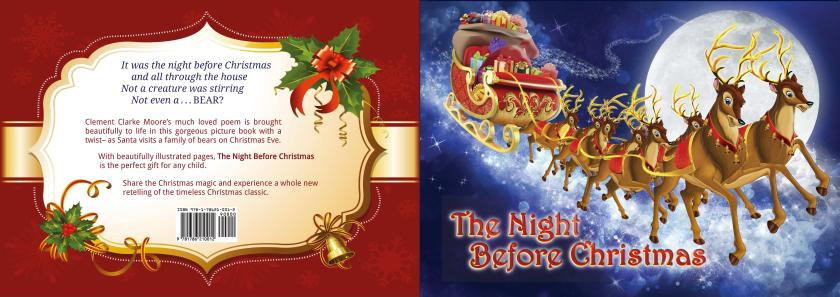 the-night-before-christmas-book-covers