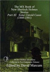 Book Cover The MX Book of New Sherlock Holmes Stories - Part XI