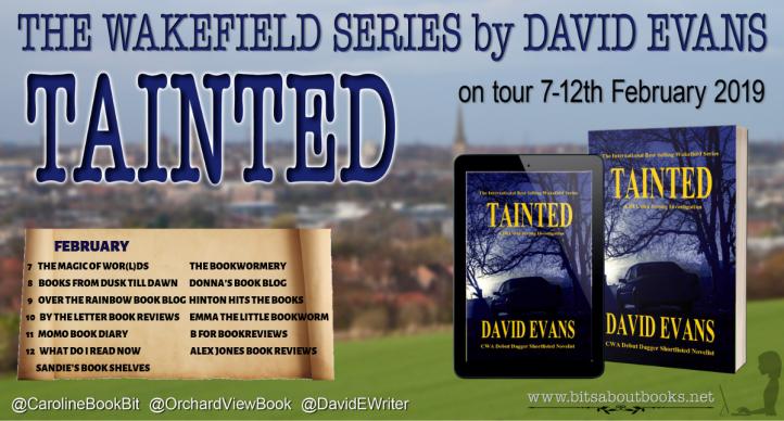 TAINTED - David Evans - Blog Tour Poster