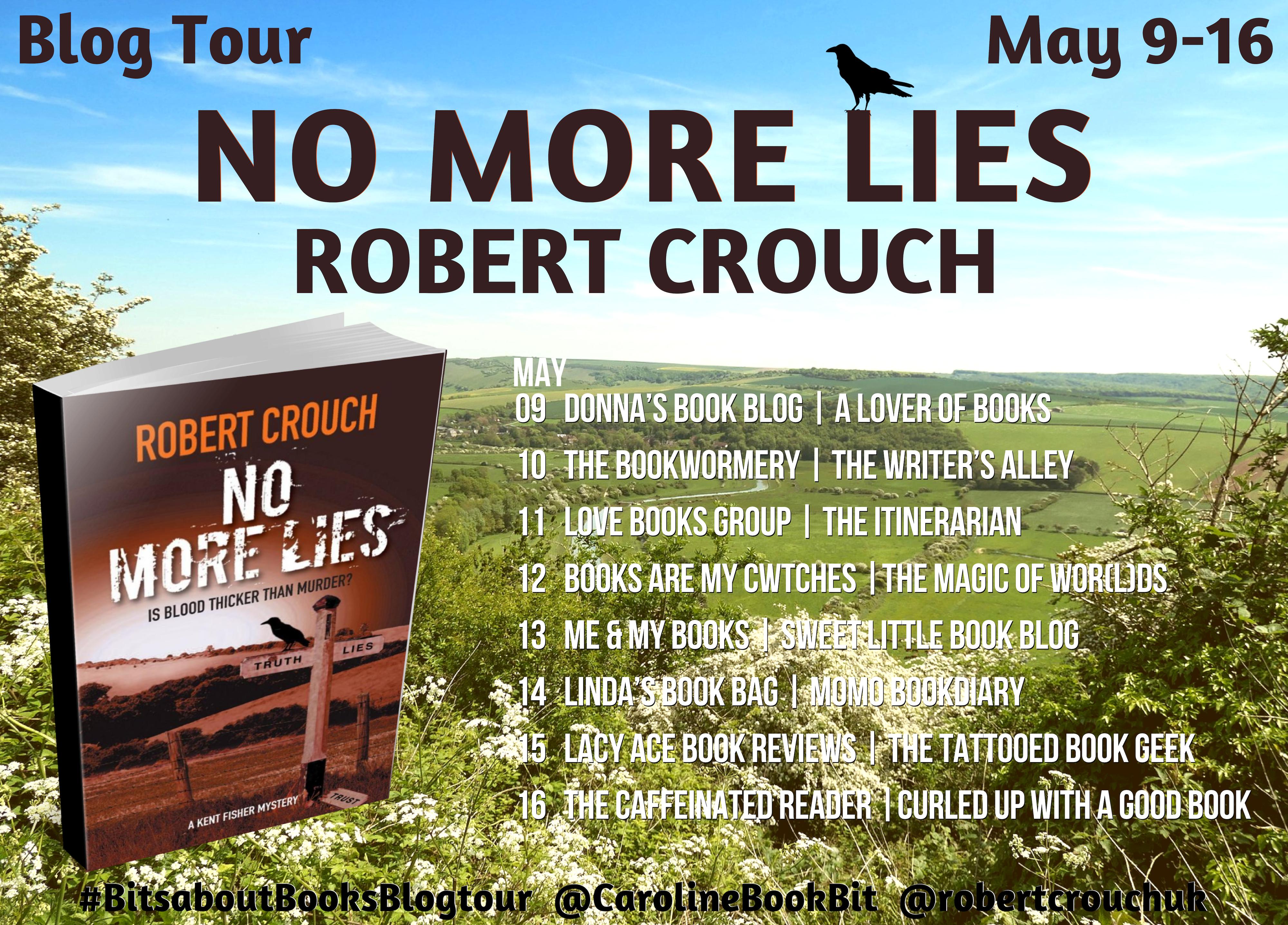 Blog Tour Poster No More Lies - Robert Crouch